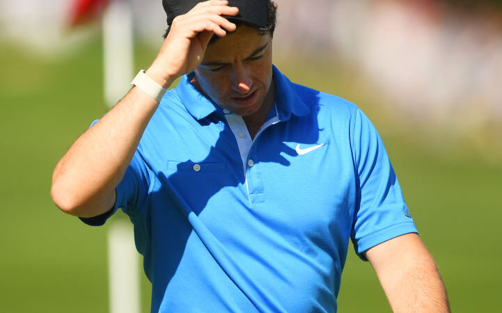 Wallace to the fore at Wentworth as McIlroy stumbles