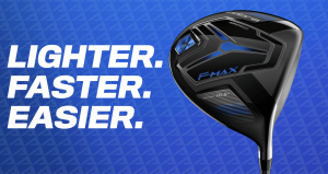 Cobra Golf 2020 F-Max Airspeed: Less mass = More power